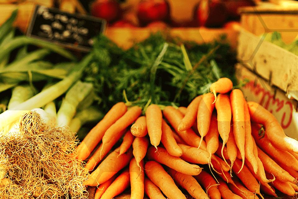 alimentation fruits et legumes de mars
