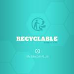 tri & déchets trier logos recyclage
