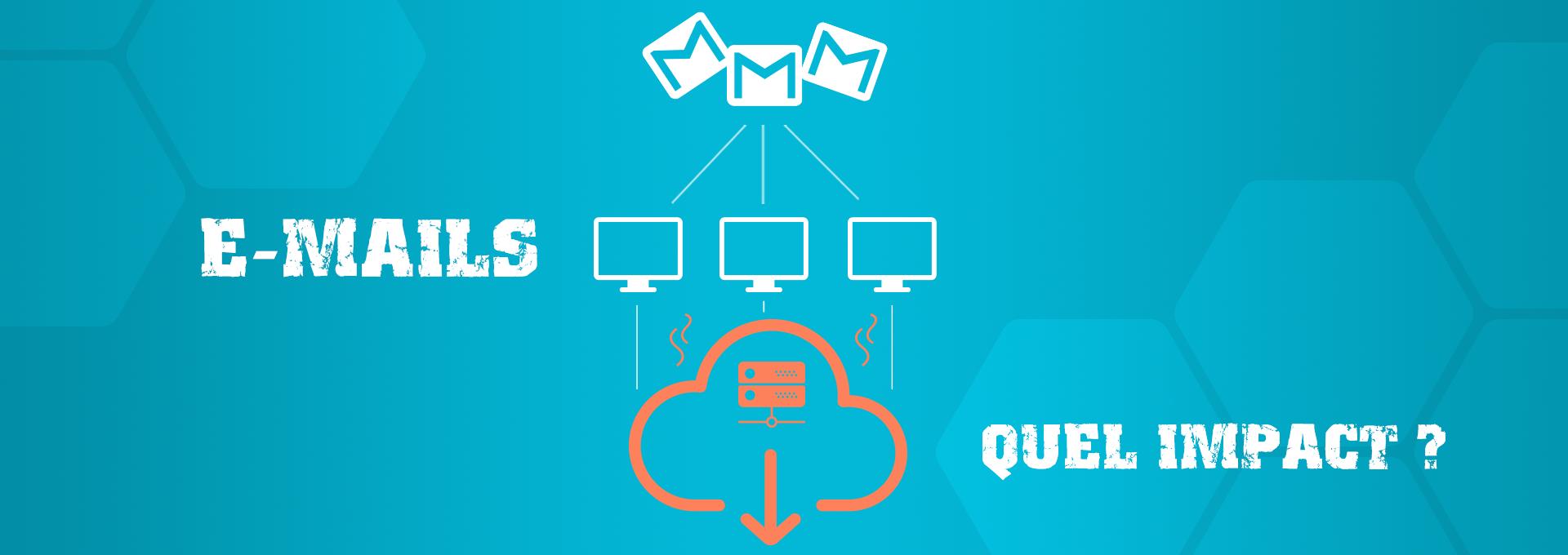 energie emails quel impact ?