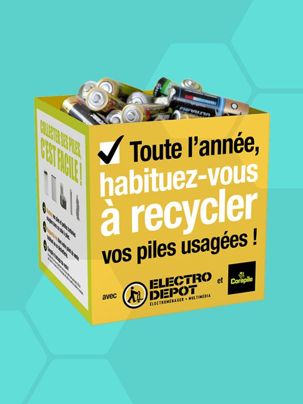 tri & déchets le recyclage des piles