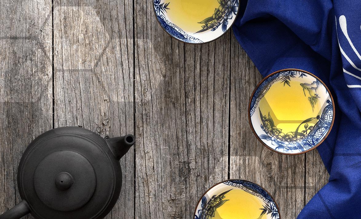 différents thés