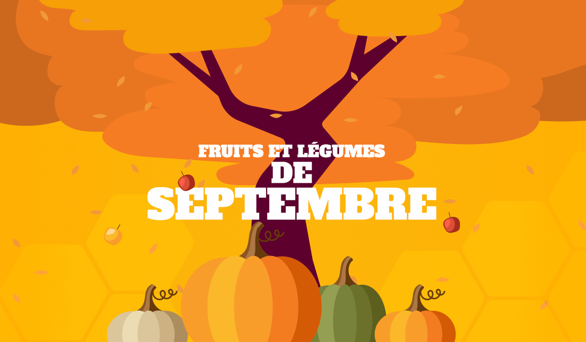 alimentation fruits et légumes de septembre