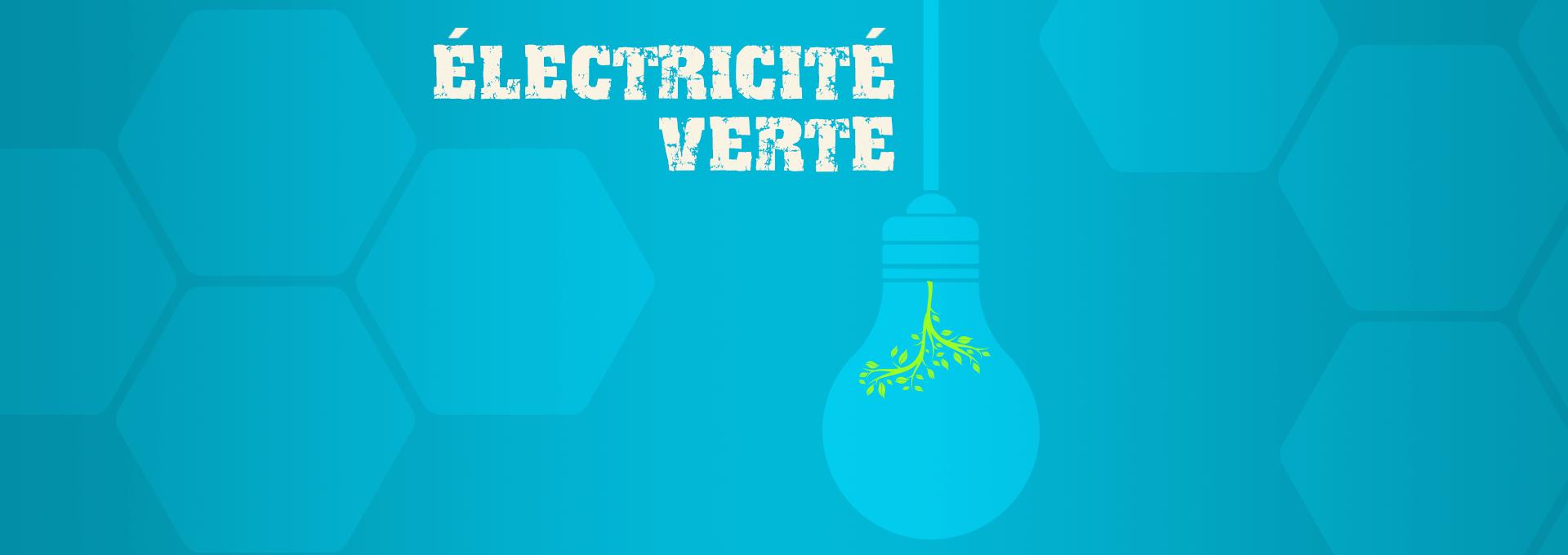énergie choisir de l'électricité verte