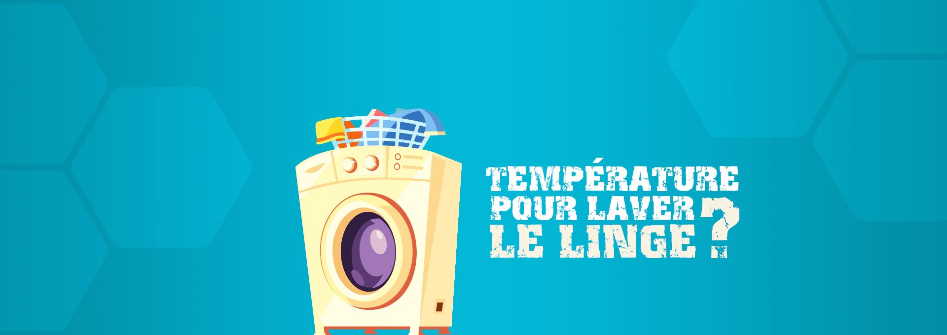 énergie quelle température lave linge ?