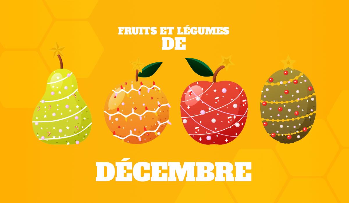 alimentation fruits et légumes décembre